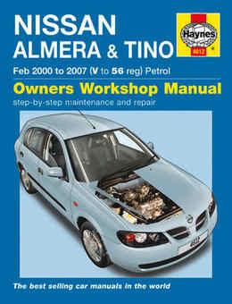 Nissan Almera Haynes Manual Repair Manual Workshop Manual Service Manual 2000-2007