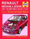 Renault Scenic Haynes Manual Repair Manual Workshop Manual Service Manual 1999-2002