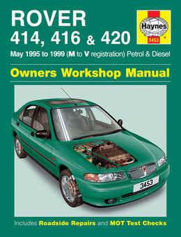 rover 400 414 416 420 haynes manual repair manual rh ministryofparts com Rover 400 Interior Rover 214
