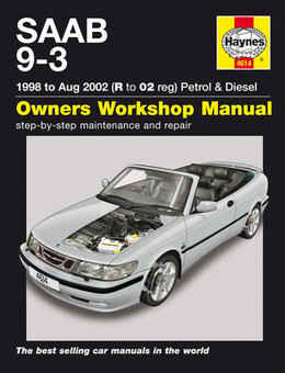 Saab 9-3 Haynes Manual Repair Manual Workshop Manual Service Manual 1998-2002
