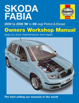 Skoda Fabia Haynes Manual Repair Manual Workshop Manual Service Manual 2000-2006
