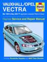 Vauxhall Vectra Haynes Manual Repair Manual Workshop Manual Service Manual  1999-2002