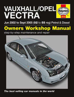 Vauxhall Vectra Haynes Manual Repair Manual Workshop Manual Service Manual 2002-2005
