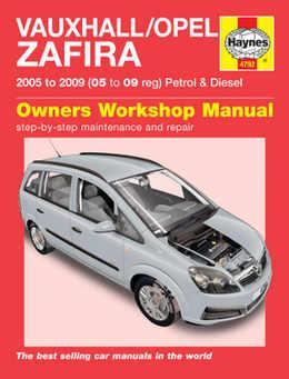 vauxhall zafira haynes manual repair manual workshop manual rh ministryofparts com Haynes Repair Manual 1991 Honda Civic Haynes Repair Manual Spark Plugs