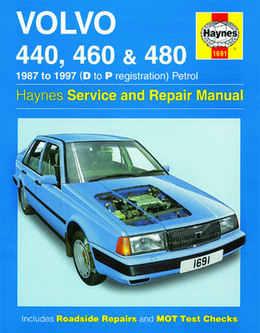 Volvo 440 460 Haynes Manual Repair Manual Workshop Manual Service Manual   1987-1997