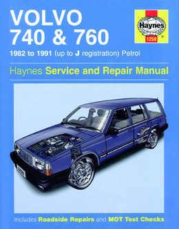 Volvo 740 760 Haynes Manual Repair Manual Workshop Manual Service Manual   1982-1991