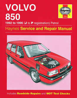Volvo 850 Haynes Manual Repair Manual Workshop Manual Service Manual  1982-1996