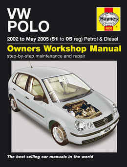 Volkswagen Polo Haynes Manual Repair Manual Workshop Manual Service Manual  2002-2005