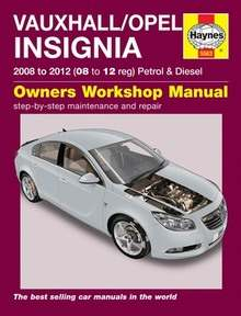 vauxhall insignia haynes manual repair manual workshop vauxhall insignia haynes manual repair manual workshop manual service manual 2008 2012