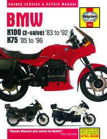 Bmw K100 Haynes Manual Repair Manual Workshop Manual 1983-1992
