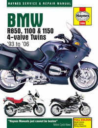 Bmw R850 GS R Haynes Manual Repair Manual Workshop Manual  1995-2006