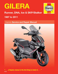 Gilera Runner Haynes Manual Repair Manual Workshop Manual 1997-2011