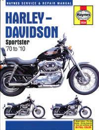 Harley Davidson XL XLH XLX XLS Haynes Manual Repair Manual Workshop Manual 1970-2010