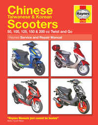 Chinese Scooters Mopeds Haynes Manual Repair Manual Workshop Manual