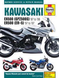 Kawasaki EX ER 500 Haynes Manual Repair Manual Workshop Manual 1987-2008