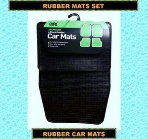 Car Mats Rubber Mats Rubber Foot Mats Set