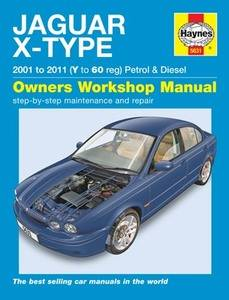 Jaguar X-Type Haynes Manual Repair Manual Workshop Manual Service Manual 2001-2011