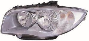 Bmw 1 Series Headlight Unit Passenger's Side Headlamp Unit 2004-2007
