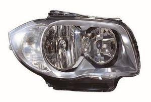 Bmw 1 Series Headlight Unit Driver's Side Headlamp Unit 2007-2011