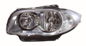 Bmw 1 Series Headlight Unit Passenger's Side Headlamp Unit 2007-2011