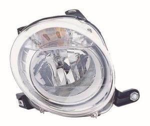 Fiat 500 Headlight Unit Driver's Side Headlamp Unit 2008-2013