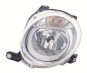 Fiat 500 Headlight Unit Passenger's Side Headlamp Unit 2008-2013