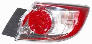 Mazda 3 Rear Light Unit Driver's Side Rear Lamp Unit 2009-2013