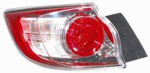 Mazda 3 Rear Light Unit Passenger's Side Rear Lamp Unit 2009-2013