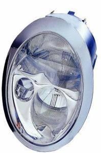 Mini Headlight Unit Driver's Side Headlamp Unit 2001-2004