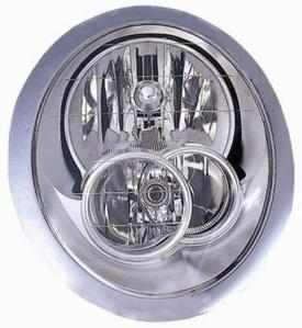 Mini Headlight Unit Passenger's Side Headlamp Unit 2004-2006