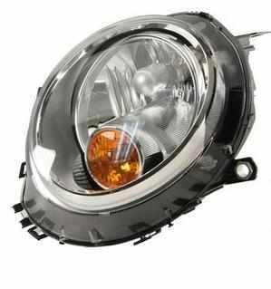Mini Headlight Unit Passenger's Side Headlamp Unit 2006-2014