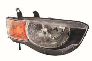 Mitsubishi Colt Headlight Unit Driver's Side Headlamp Unit 2009-2013