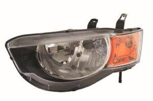 Mitsubishi Colt Headlight Unit Passenger's Side Headlamp Unit 2009-2013