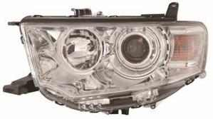 Mitsubishi L200 Headlight Unit Passenger's Side Headlamp Unit 2010-2014