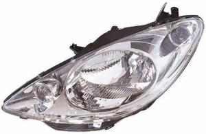 Peugeot 1007 Headlight Unit Passenger's Side Headlamp Unit 2005-2008
