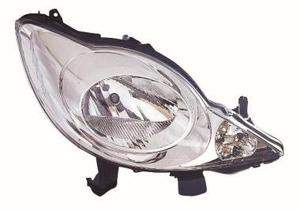 Peugeot 107 Headlight Unit Driver's Side Headlamp Unit 2005-2012