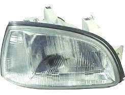 Renault Clio Headlight Unit Driver's Side Headlamp Unit 1996-1998