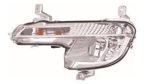 Peugeot 508 Fog Light Unit Passenger's Side Front Fog Lamp 2011-2014