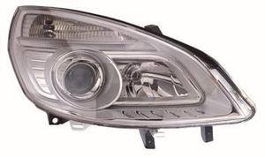 Renault Scenic Headlight Unit Driver's Side Headlamp Unit 2006-2009