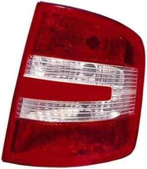 Skoda Fabia Estate Rear Light Unit Driver's Side Rear Lamp Unit 2005-2007