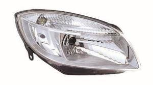 Skoda Fabia Headlight Unit Driver's Side Headlamp Unit 2007-2010