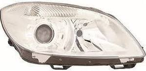 Skoda Fabia Headlight Unit Driver's Side Headlamp Unit 2010-2014