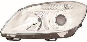 Skoda Fabia Headlight Unit Passenger's Side Headlamp Unit 2010-2014