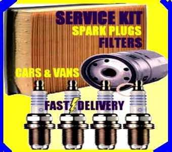 Audi A2 1.6 FSi Oil Filter Air Filter Fuel Filter Spark Plugs 2000-2005