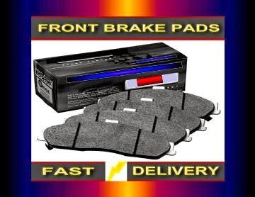 Jeep Wrangler Brake Pads Jeep Wrangler 4.0 Brake Pads  1997-2007