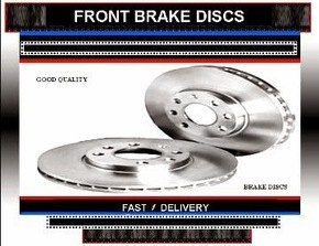 Nissan 200 SX Brake Discs Nissan 200SX 1.8 Turbo Brake Discs 1991-1994