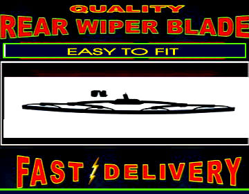 Jeep Wrangler Rear Wiper Blade Back Windscreen Wiper