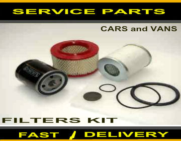 Ldv Convoy 2.5 D 2.5 TD Oil Filter Air Filter Fuel Filter Service Kit 1998-2005