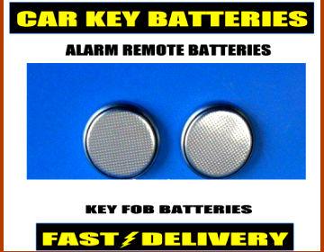 Peugeot Car Key Batteries Cr2025 Alarm Remote Fob Batteries 2025