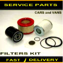 Citroen Relay 2.5 D 2.5 TD Air Filter Oil Filter Fuel Filter Service Kit  1998-2002